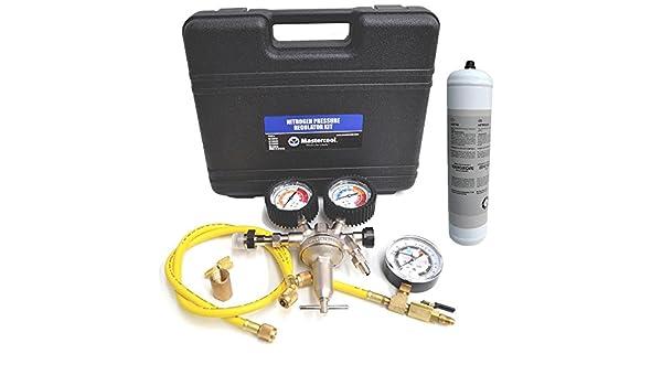 Nitrógeno de Master cool 53050 de aire acondicionado incluye botella: Amazon.es: Bricolaje y herramientas