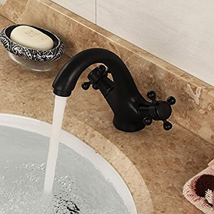 Amazon.com: Furesnts Modern home kitchen and bathroom faucet Oil ...