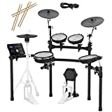 Roland TD-25K-S Electronic Drum Set Bundle with 3 Pairs of Sticks, Audio Cable, Polishing Cloth
