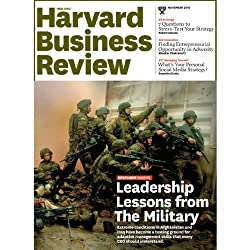 Harvard Business Review, November 2010