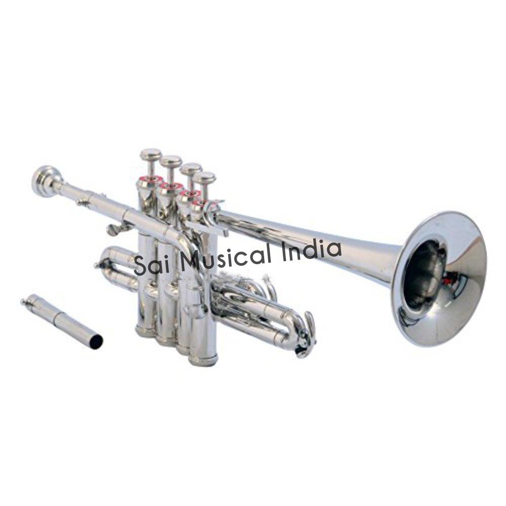 Sai Musical India PiTr-02, Piccolo Trumpet, Bb, Nickel