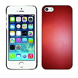 Paccase / SLIM PC / Aliminium Casa Carcasa Funda Case Cover para - Reflective Latex Leather Paint Color - Apple Iphone 5 / 5S