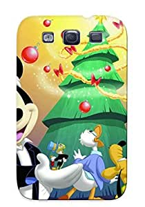 Galaxy Case - Tpu Case Protective For Galaxy S3- Free Disney Christmas