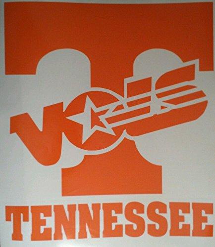Tennessee Volunteers Cornhole Board Decals - Vinyl Cornhole Decals