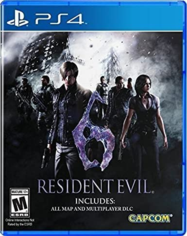 Buy Resident Evil - 6 (PS4) Online at Low Prices in India | Capcom