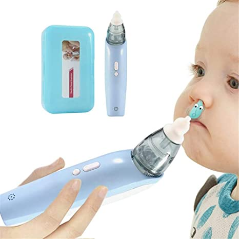 xcvbw Aspirador nasal para bebés Aspirador de mocos Aspirador ...