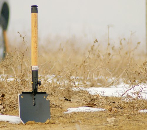 Chinese Military Shovel Emergency Tools WJQ-308 II with Original Waterproof Cases Bag Kit by WJQ (Image #3)