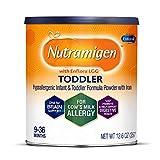 Nutramigen with Enflora LGG Toddler Hypoallergenic Formula, Powder, 12.6 oz Can