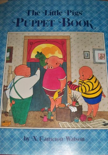 The Little Pig's Puppet Book by Little Brown & Co