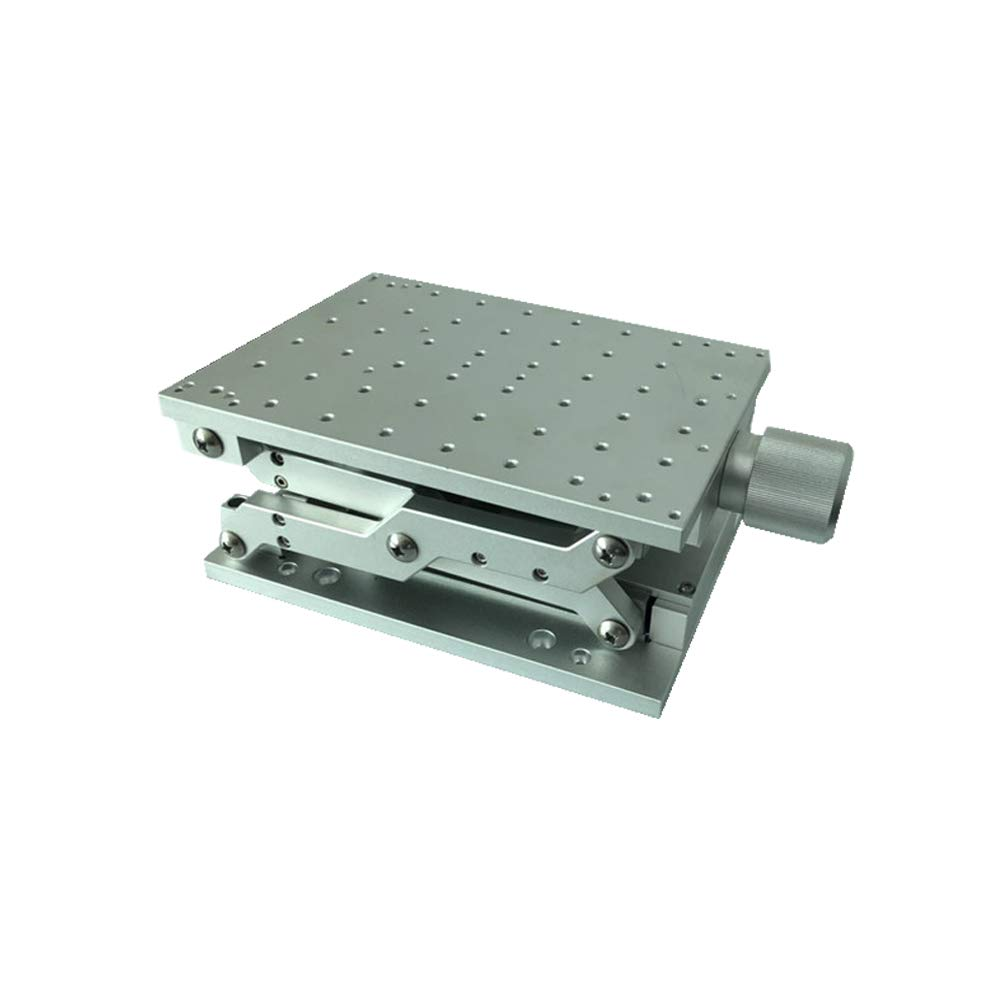 Z Axis Positioning Moving Work Table Workbench Worktable for Laser Marking Engraving Machine Stroke 120mm