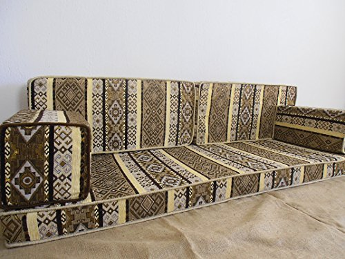 Oriental furniture,oriental seating,seat covers,floor seating,arabic seating,floor sofa,arabic sofa,hookah bar decor,hookah bar furniture,hookah bar sofa set - MA 14