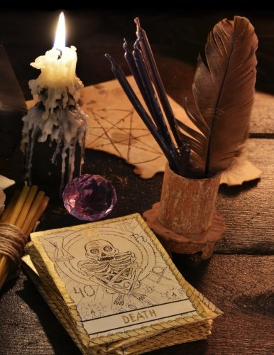 Book Of Shadows Journal - Blank Book Of Spells: Magic Spell Book - Grimoire Gifts - Large Journal 8.5  x 11 - 150 Pages - Spell Notebook Paper - ... (Incantation & Enchantment) (Volume 3) (Shadows Journal)
