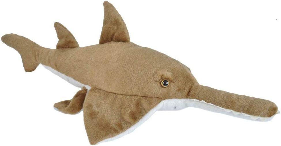 Wild Republic Sawfish Plush, Stuffed Animal, Plush Toy, Gifts for Kids, Cuddlekins 20 inches