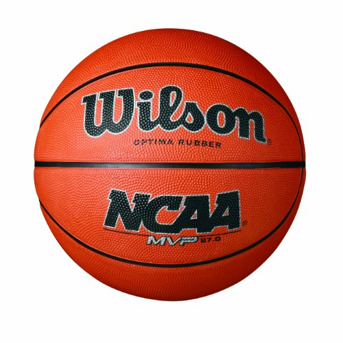 Wilson NCAA MVP Rubber Basketball, Youth - 27.5