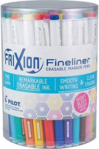 Pilot FriXion Fineliner Erasable Assorted