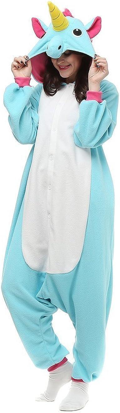 Kenmont Unicorn Pijamas Anime Cosplay Adulto Traje Disfraz Adulto Animal Pyjamas