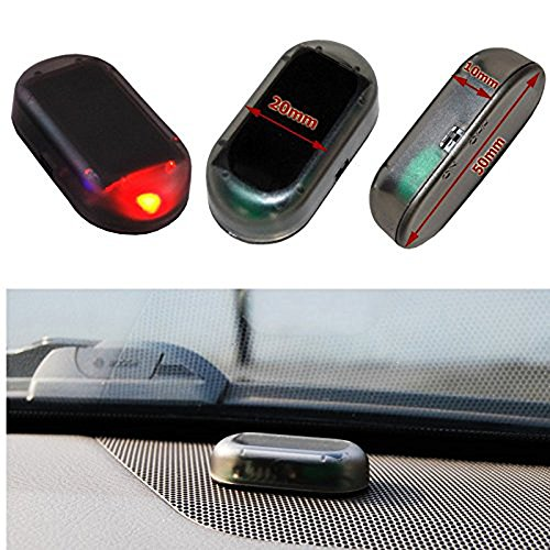 Perfectech car solar power simulated dummy alarm warning anti theft perfectech car solar power simulated dummy alarm warning anti theft led flashing security light fake aloadofball Image collections