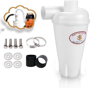 Sailnovo Colector de polvo Extractor de polvo Separador Ciclónico Filtro Ciclón Recolección de Polvo para Aspirador: Amazon.es: Bricolaje y herramientas
