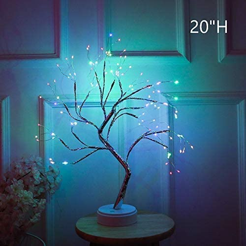 108 LEDs Christmas Birch Tree Lights Xmas Branches Twig Night Light Home Decor