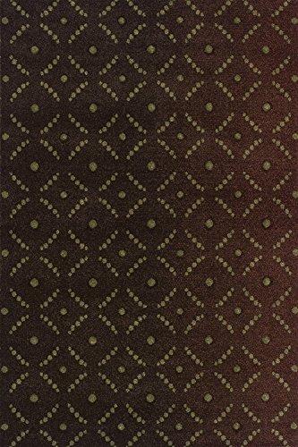 Dalyn Rugs RD814 Radiance Area Rug, 9-Feet 6-Inch by 13-Feet 2-Inch, (Radiance Chocolate Rug)