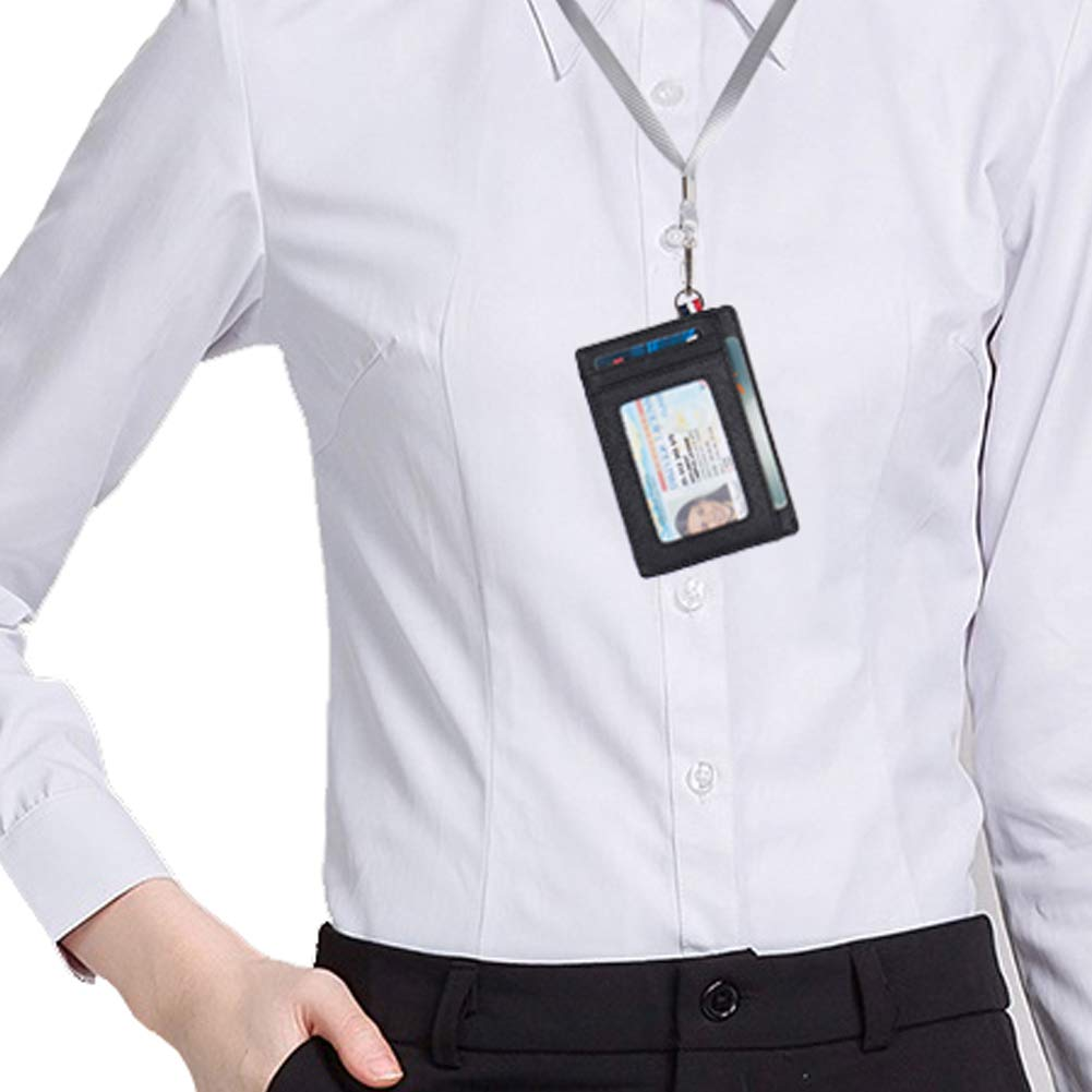 Small RFID Blocking Minimalist Credit Card Holder Pocket Slim Wallets for Men & Women by NEUX (Image #7)