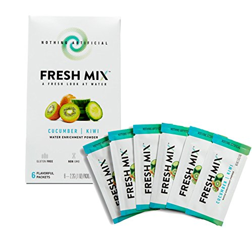 - Fresh Mix Instant Drink Mix, Cucumber Kiwi, 6 Count (Pack of 3)