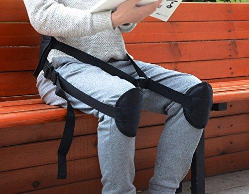 Posture Correcting Lumbar Back Support Brace with Adjusta...
