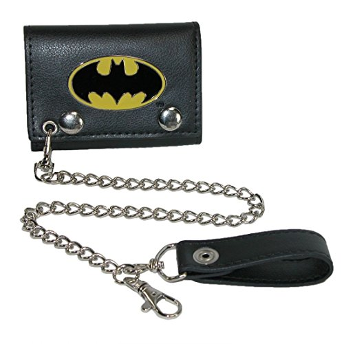 Metal Badge Chain Wallet - Batman Metal Badge Chain Wallet