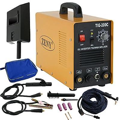 UBRTools 200 Amp TIG/Arc/MMA/Stick DC Inverter Welder 110/230V Argon Welding Machine