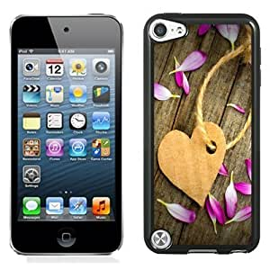 Designed For Iphone 5/5S Case Cover Corrugated Paper Heart Tag Phone