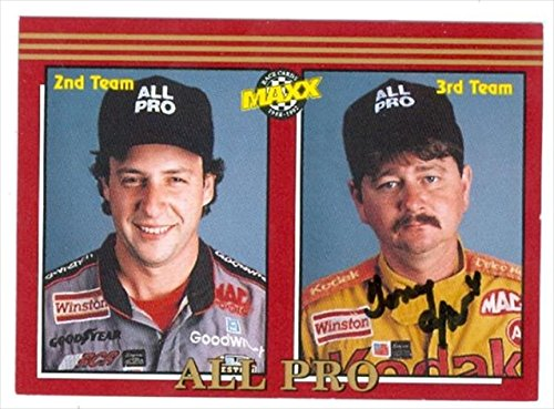 Autograph Warehouse 41358 Tony Glover Autographed Trading Card Auto Racing 1992 Maxx No. 235 from Autograph Warehouse