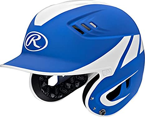 Rawlings Sporting Goods Junior Baseball R16 Away Sized Helmet Black SS-SMS-1007742