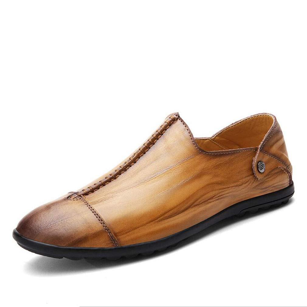 YAN Männer Schuhe Loafers Slip auf Schuhe Smart Casual Schuhe Leder Driving Schuhe 2018 Herbst & Winter Mode