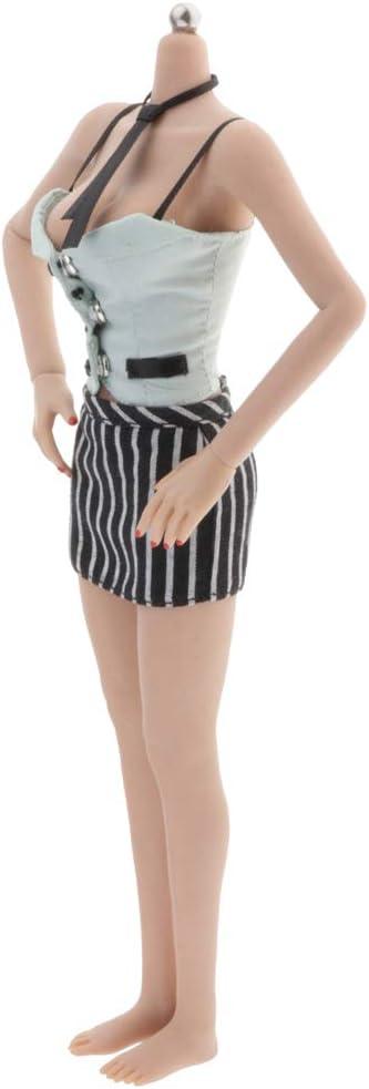 6 Schulter Weste Rock Puppenbekleidung für 12 Zoll Actionfiguren 1