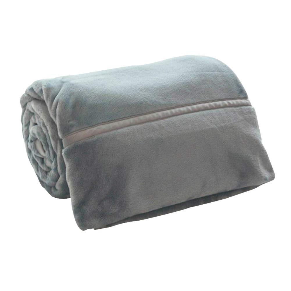 HSBAIS ウォーム毛布 小さい毛布フル/クイーン/キングサイズ - 柔らかい冬毛布赤ちゃんの大人のための厚い洗濯可能な大人の休日ギフト寝具毛布,blue_200*230cm B07K784WW2 Blue 200*230cm