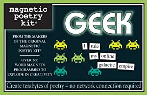 Geek Kit: Magnetic Poetry Kit