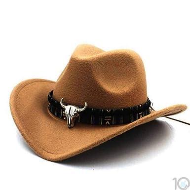 10dare Cowboy Hat with Bull Badge  4baf1fd425b