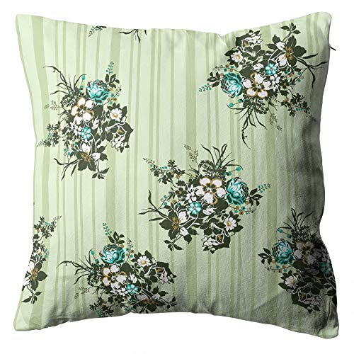 Docady Lovely Love Midium Mid Small Beige Print Decorative Throw Pillow Cover Cushion Cover Square 18