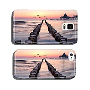 on the beach of Usedom cell phone cover case Samsung S6