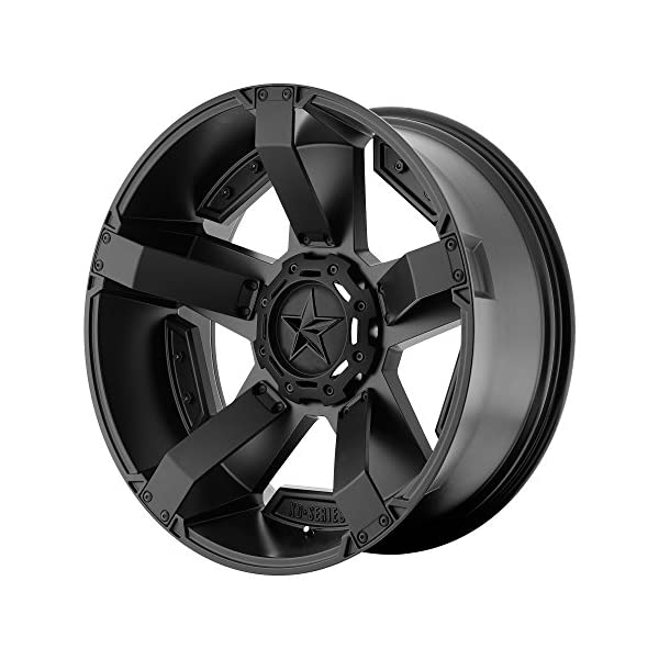 XD-Series-by-KMC-Wheels-XD811-Rockstar-II-Satin-Black-Wheel-with-Painted-17-x-9-inches-6-x-135-mm-12-mm-Offset
