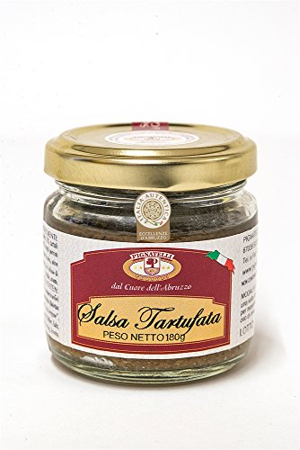 Truffle sauce 1800g - Ingredients: mushrooms, summer truffles 10%, extra virgin olive oil, black olives, vegetables, anchovies, spices, pepper, salt and aromas - (DF13)