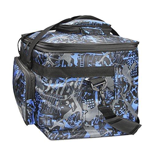 Art Pencils Carrying Shoulder Painting Art Storage Craft Capacity Messenger Paints Tool Adjustable Travel Bag Canvas black blue Case Tote Large Brushes Waterproof Bag Portfolio Bag Palette Supplies Sketchbook rwx1rSqYA