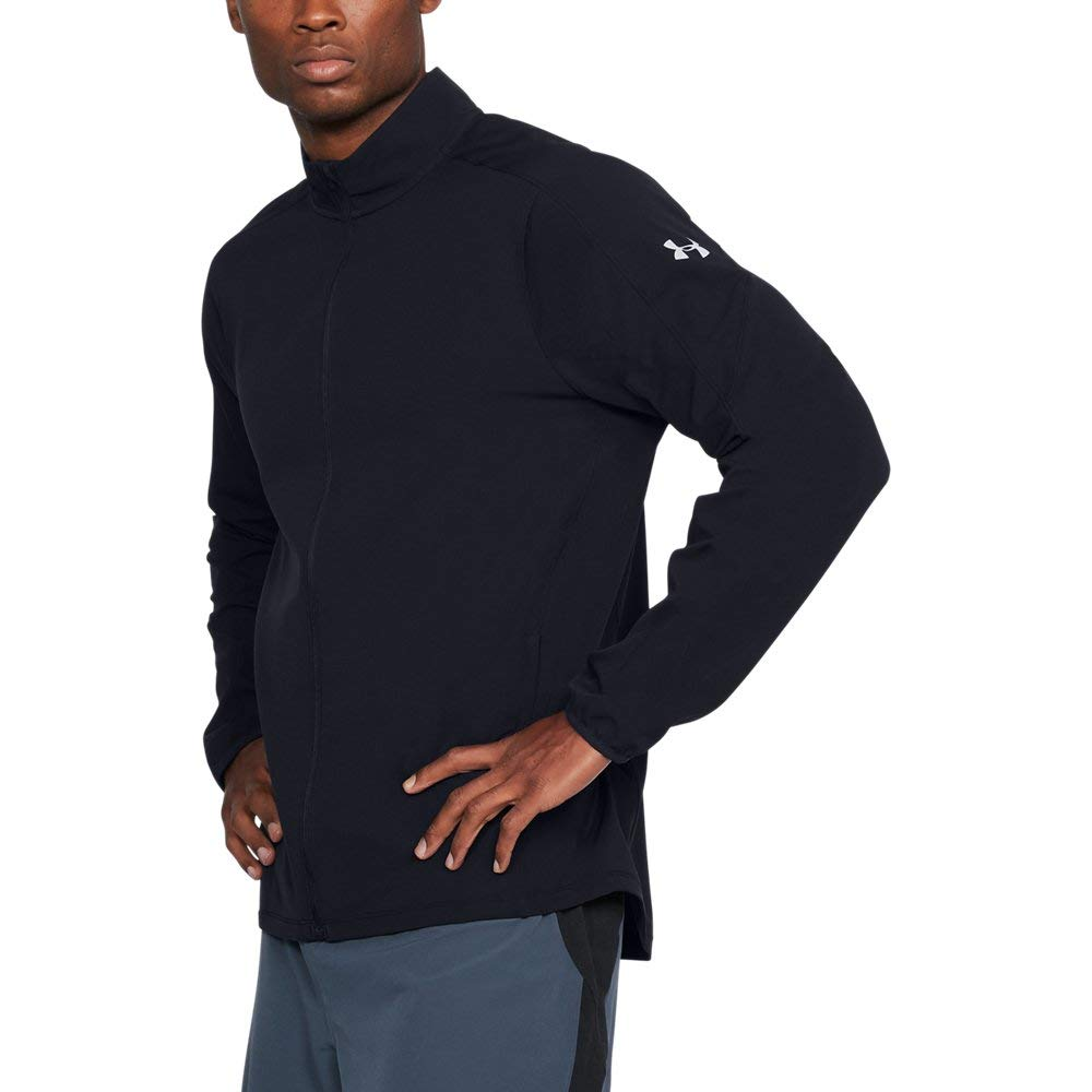 Under Armour Men's Storm Out & Back Jacket, Black (001)/Reflective, XX-Large by Under Armour
