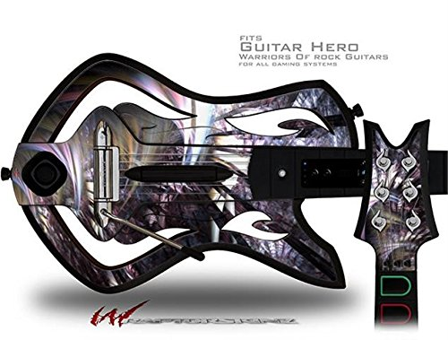 Wide Open Decal Style Skin - fits Warriors Of Rock Guitar Hero Guitar (GUITAR NOT INCLUDED)