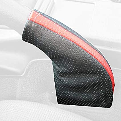 RedlineGoods ebrake Boot Compatible with Mazda Miata NA 1990-97 Black Alcantara-Blue Thread