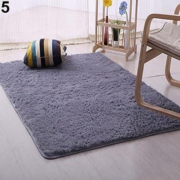 Amazon De Kooco Plusch Shaggy Weichen Teppich Zimmer Teppich