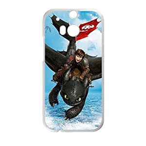 Happy Dragon Chaser Cell Phone Case for HTC One M8