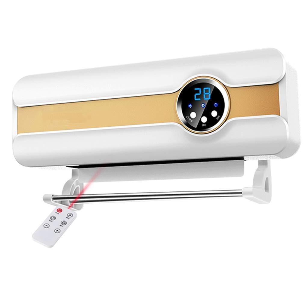 HPTC Heizbad Dual Use Heizungswall-montiert Kleine Klimaanlage Ventilator Fast Heizungsfan Elektro-Heizung sparen Elektrizität Heizung, (B)