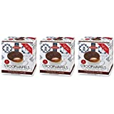 Daelman's Chocolate Caramel Stroopwafels 10.23 Ounce Cube (Pack of 3)