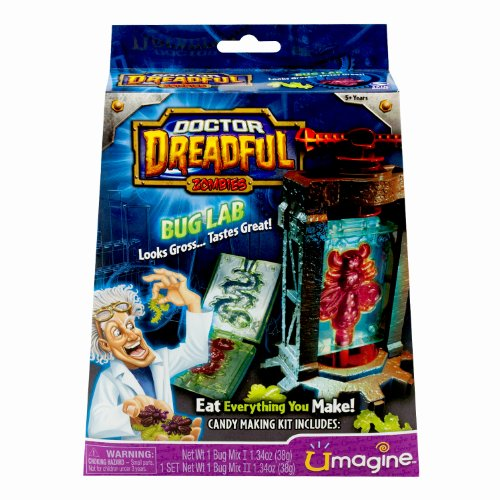 Crawlers Creepy - Doctor Dreadful Zombies Bug Lab